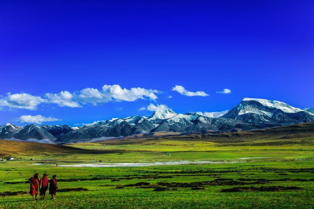 O Tibet ajuda numa transformação completa do protagonista deste filme