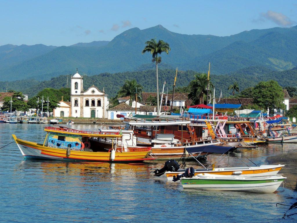 Coisas legais para fazer em Paraty: conhecer o centro histórico