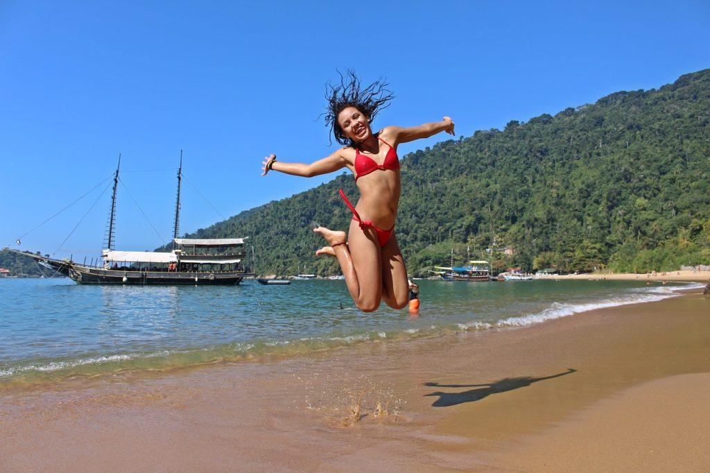 Muita diversão nas várias e belas praias