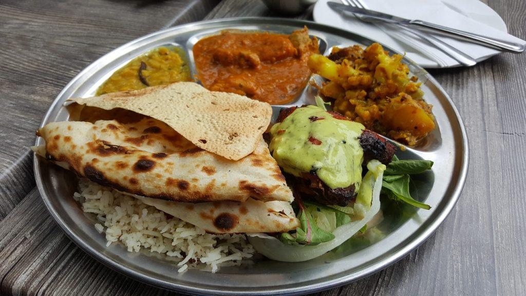 Na Índia o café da manhã é salgado com muito condimentos