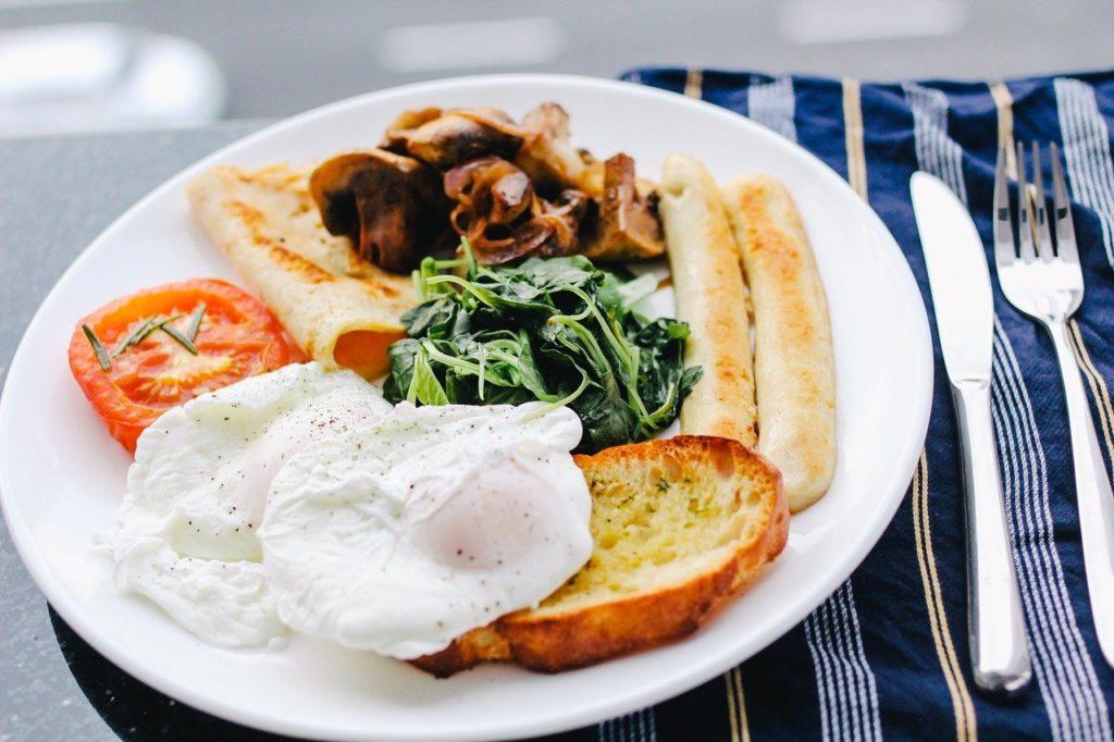Sobre como é o café da manhã em outros países, na Inglaterra parece o nosso almoço
