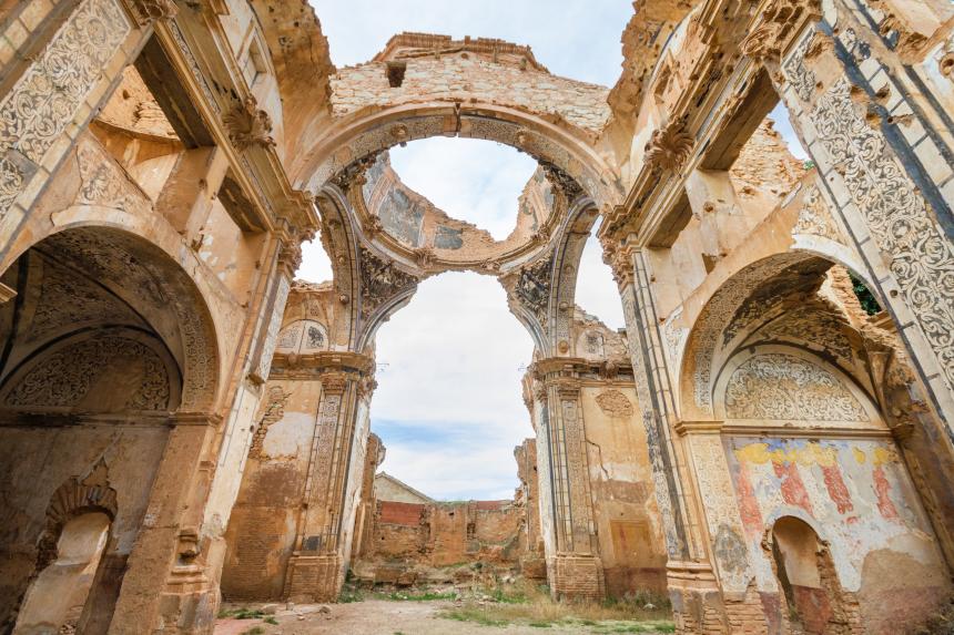 Belchite é mais um representante espanhol na lista de lugares abandonados para visitar pelo mundo
