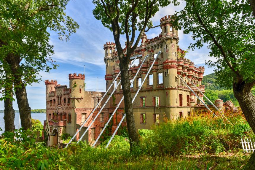 Este castelo fica em Nova York e integra a lista de locais deixados de lado