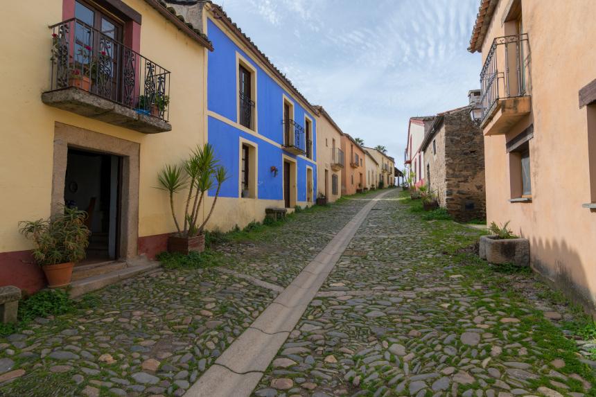 Granadilla fica em Cáceres, na Espanha