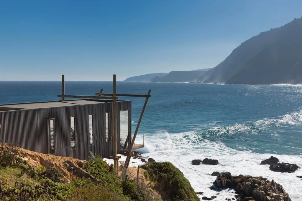 Esta obra de arte é uma casa e fica no Chile