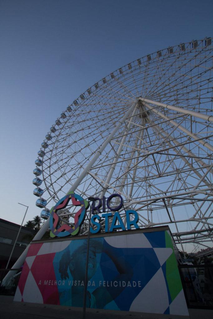 Rio Star divulga quais os horários e valor do ingresso da roda gigante do Rio
