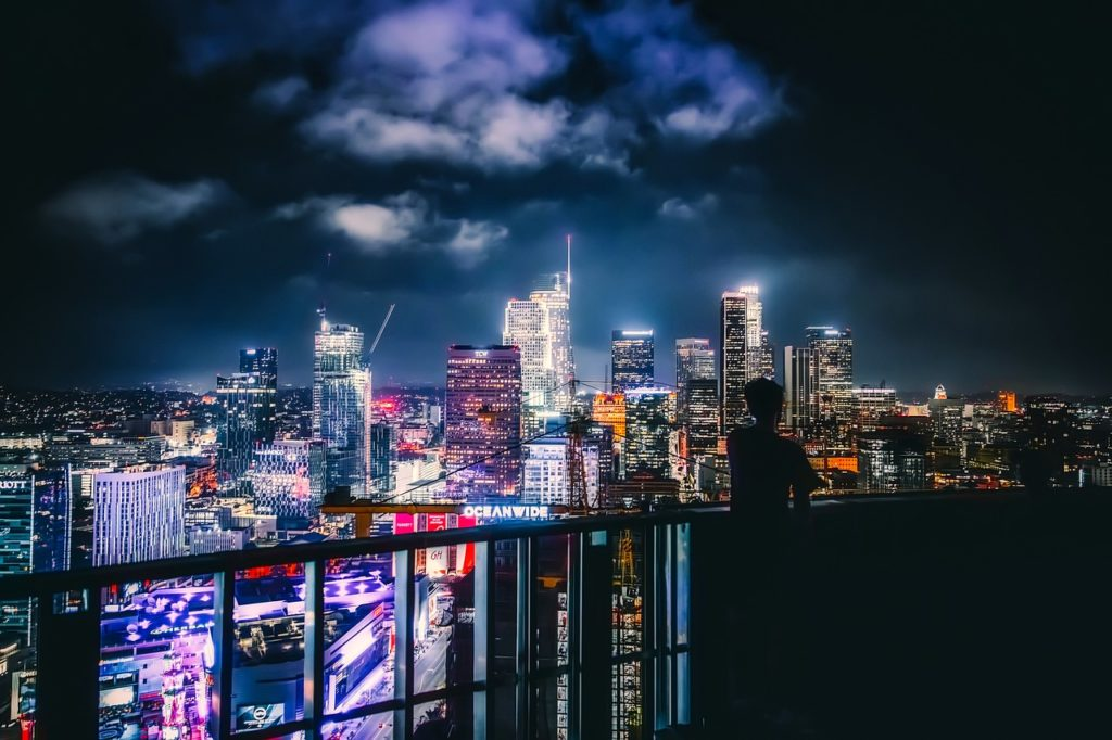 Terra de ricos e famosos, Los Angeles tem padrão de vida alto