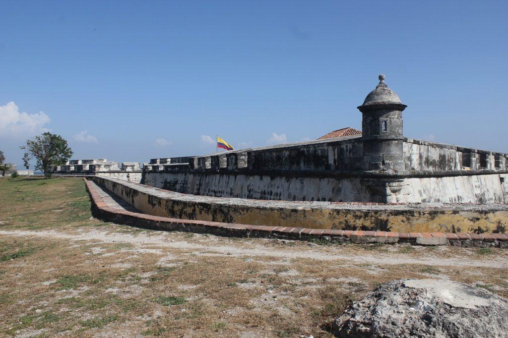 Cartagena está entre as cidades amuralhadas mais conhecidas do planeta
