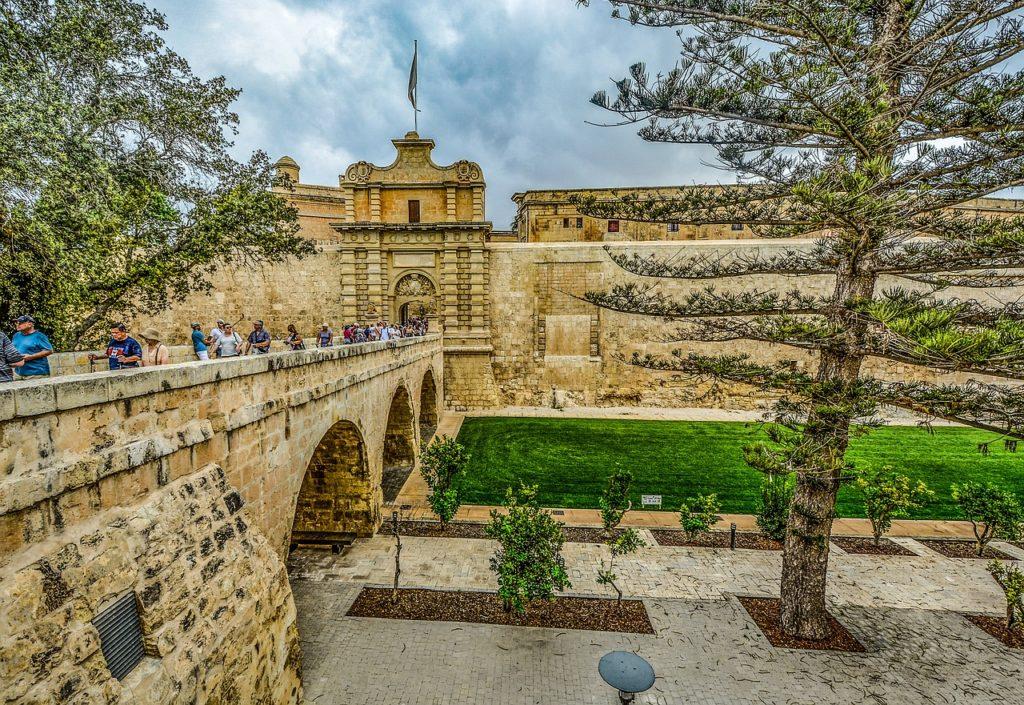Mdina fica em Malta e já foi a capital do país