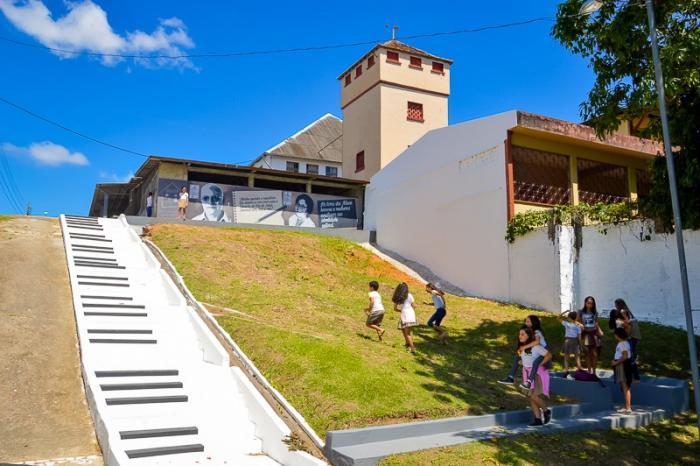 As escadarias mais instagramáveis do Brasil: a do Acre foi transformada em teclado de piano