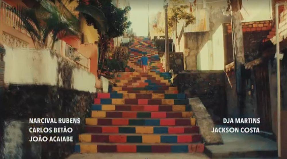Escadaria da Bahia foi destaque em novela global
