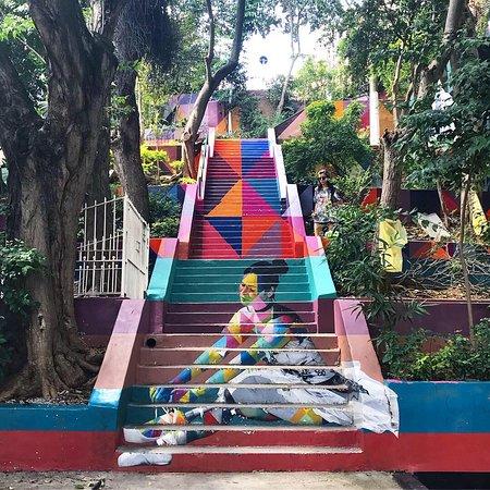 A escadaria de São Paulo homenageia bailarinas