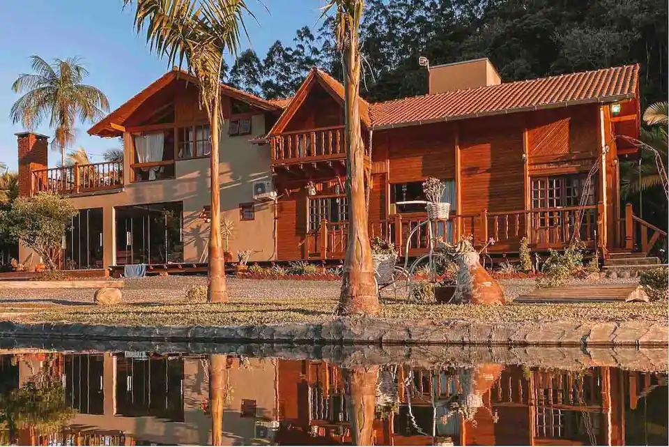 7 pousadas incríveis em Santa Catarina: Sítio A Tôa