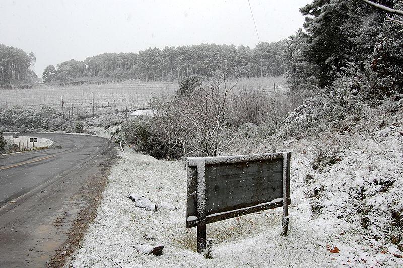Terá neve no Brasil em 2021?  Se as condições se formarem, sim