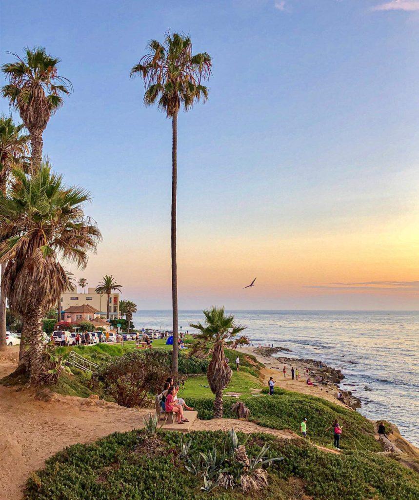 La Jolla é outra praia queridinha na região de San Diego