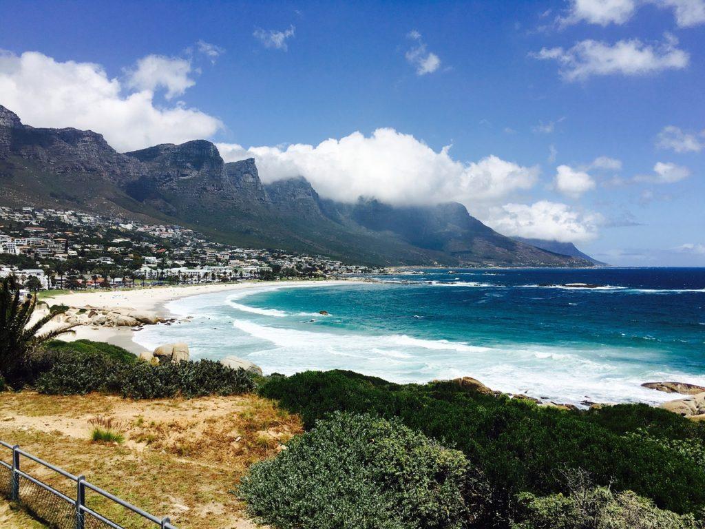 Em Cape Town destaque para a Camps Bay