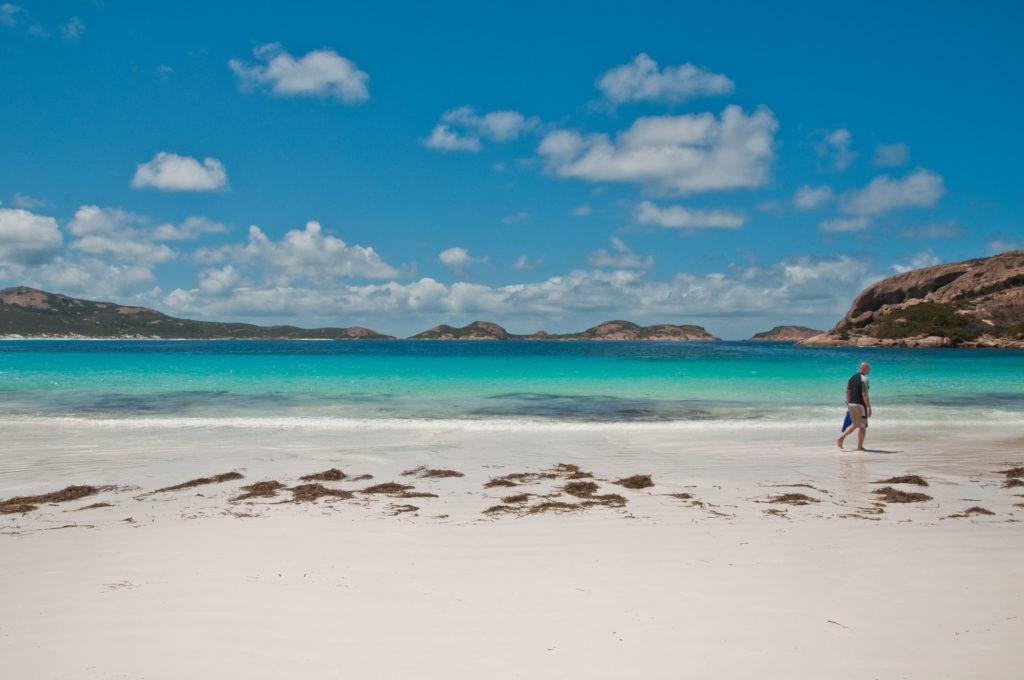Outro local famoso é o Cape Le Grande, na Austrália