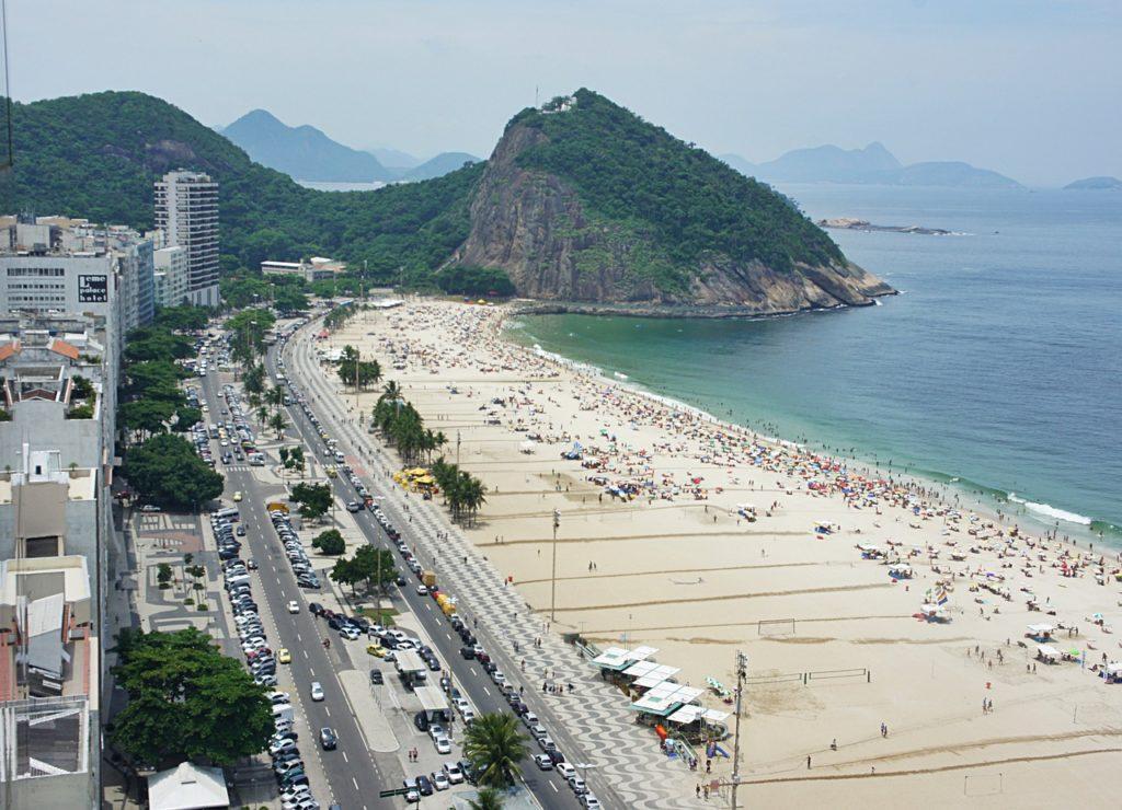 Copacana é a única representante brasileira nesta lista das praias mais bonitas do mundo
