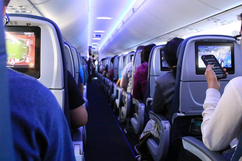 Os aviões possuem filtros especiais