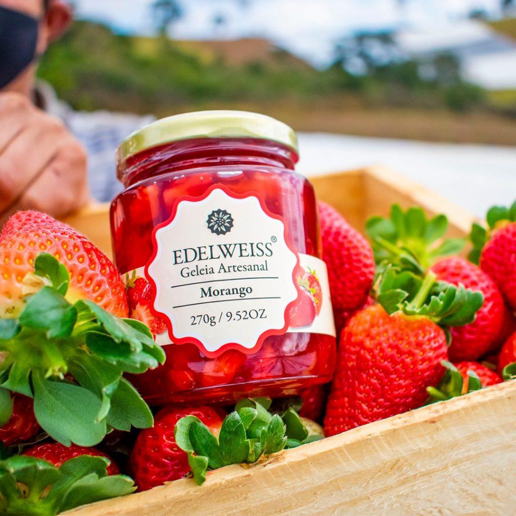 A história das Geleias Edellweiss deixam o doce ainda mais saboroso