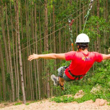 A tirolesa de Monte Verde está entre as mais incríveis do Brasil