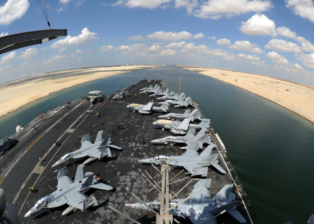 Outros locais parecidos com o Canal de Suez
