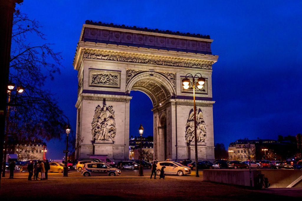 Na França, os voos foram recém-cancelados