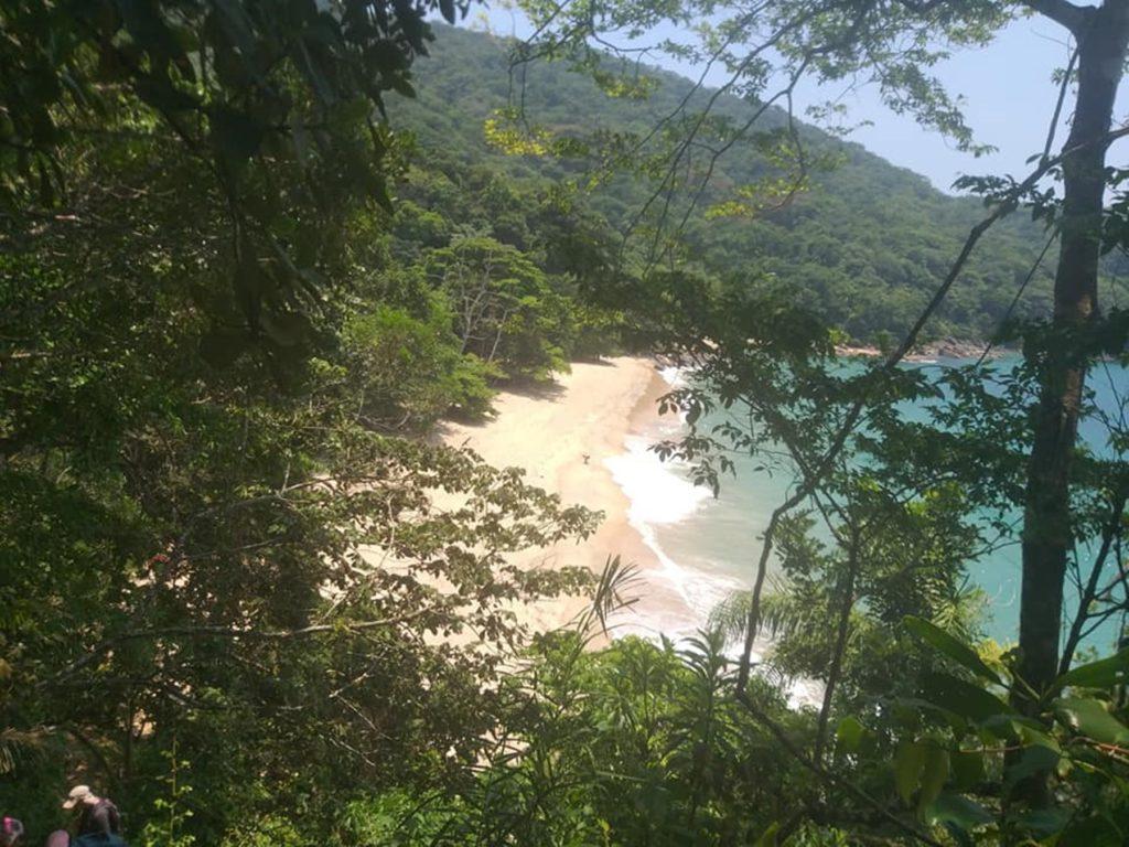 Ubatuba apresenta a Praia Deserta