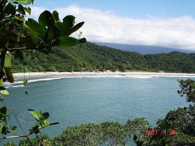 Na lista das mais belas praias do litoral paulista está a Prainha Branca no Guarujá