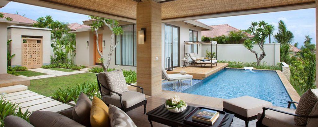 Direto de Bali, tem o Mulia Villas entre os hotéis com hidromassagem privativa