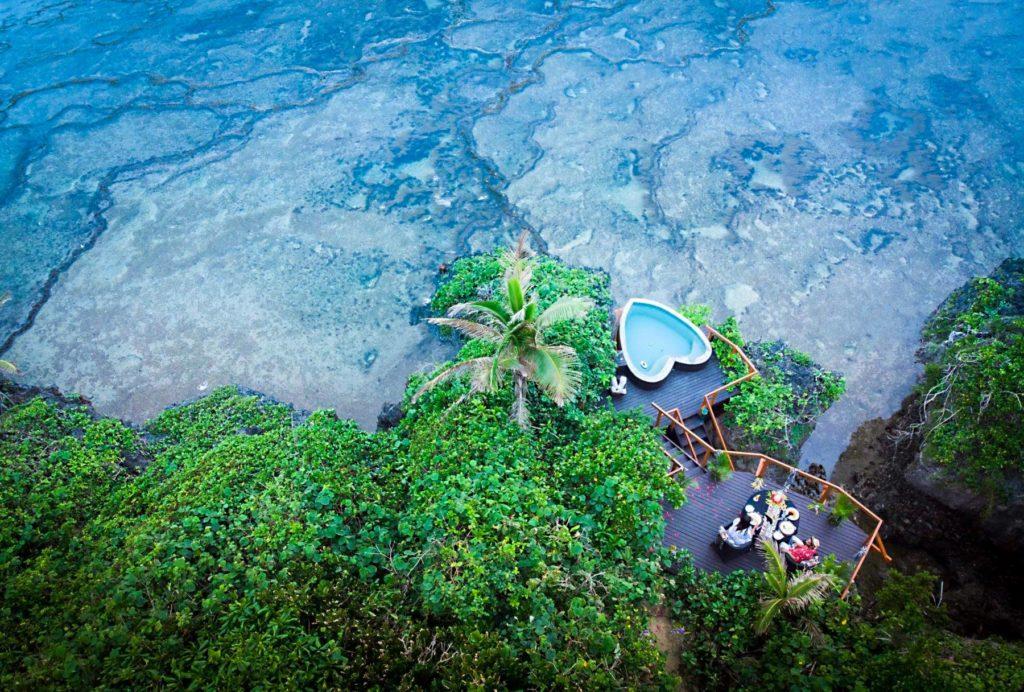 Fiji tem outro representante na lista dos hotéis com hidromassagem privativa