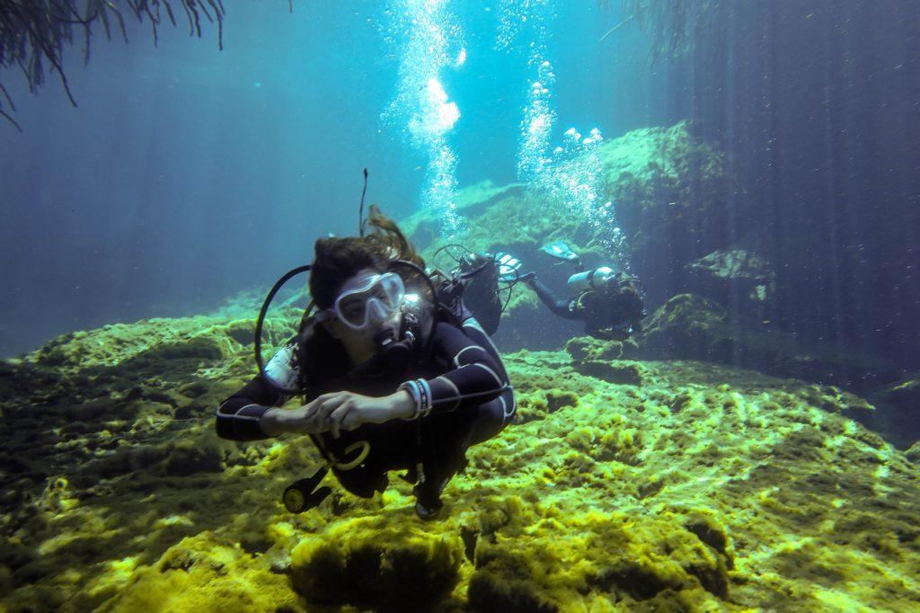 O que fazer em Tulum no México? Mergulhar