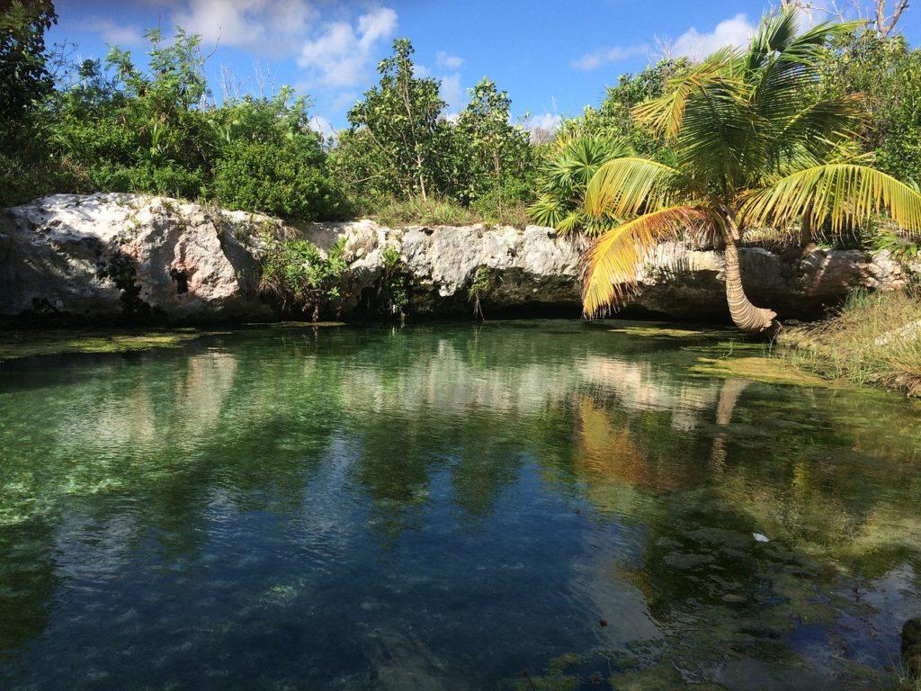 Cenotes estão na lista sobre o que fazer em Tulum no México