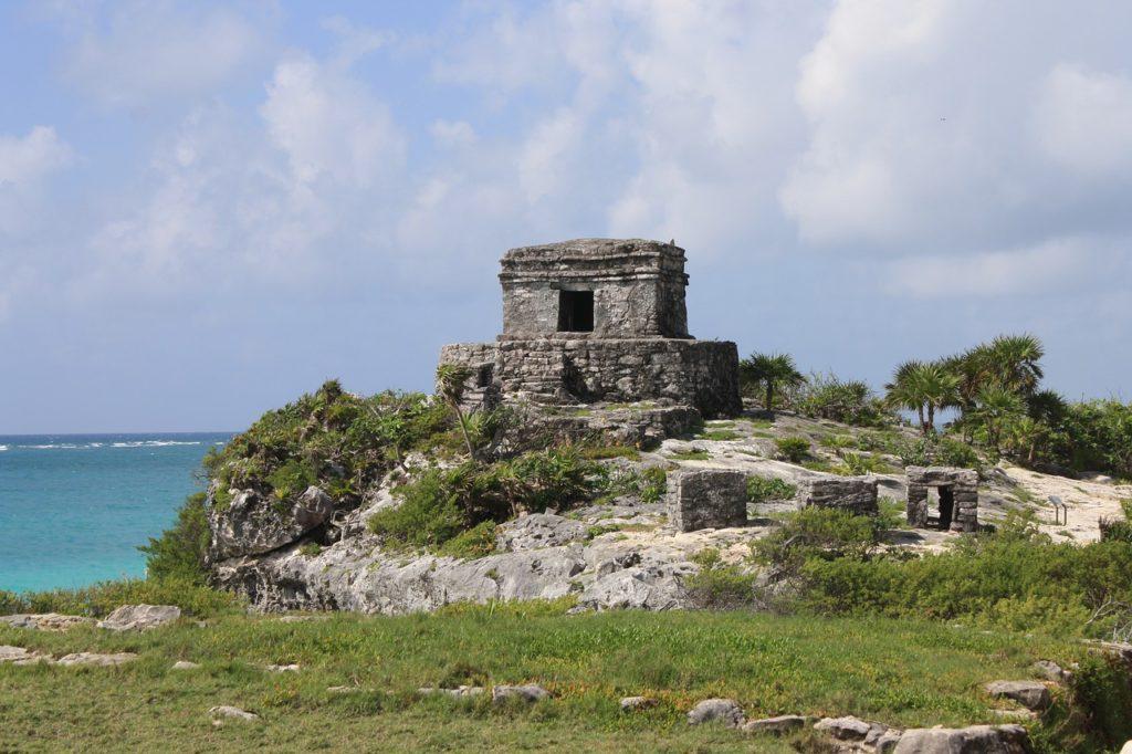 As ruínas contam a história da cidade mexicana