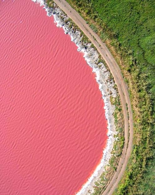 Onde ficam os lagos cor de rosa? Certeza que algum está no Canadá