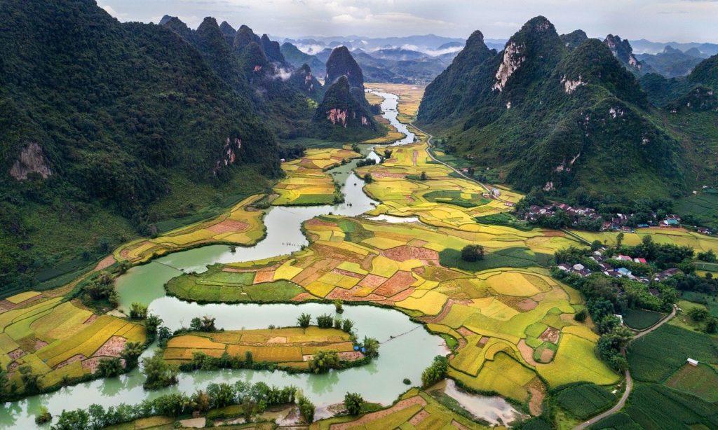 O Vietnã é outra joia da Ásia