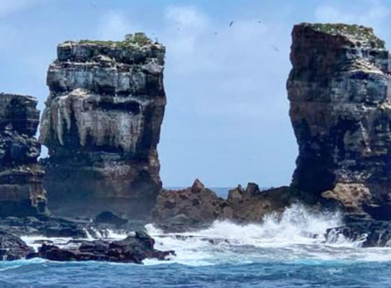 Erosão derruba famoso Arco de Darwin