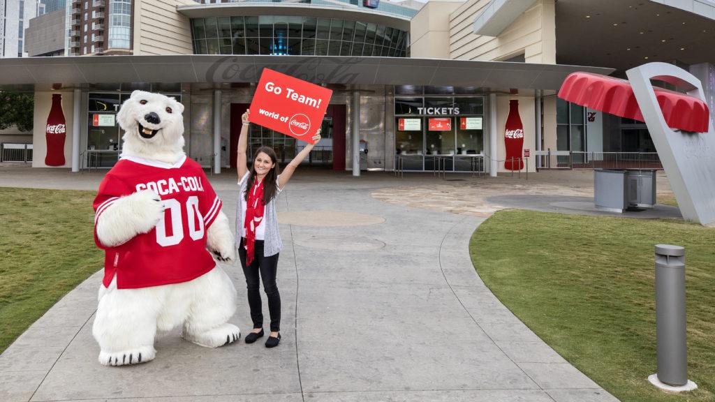 O Mundo da Coca-Cola também apresenta sua história ao público