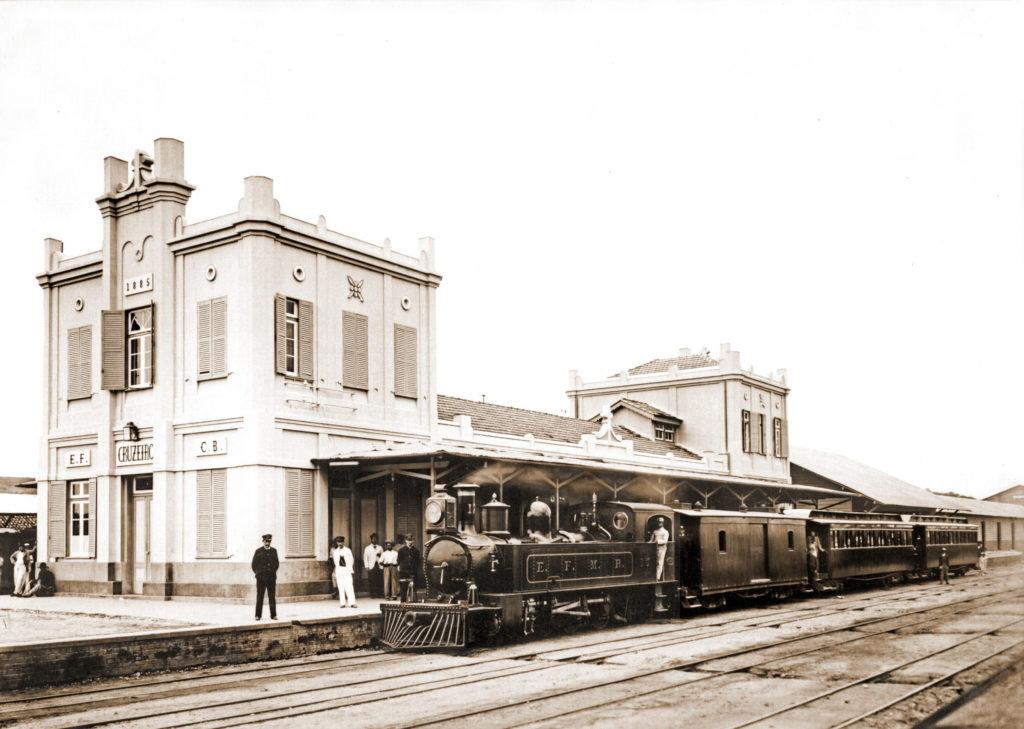Registro histórico mostra como era a estação de Cruzeiro