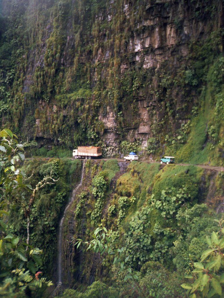 Na Bolívia fica o mais arriscado dos percursos