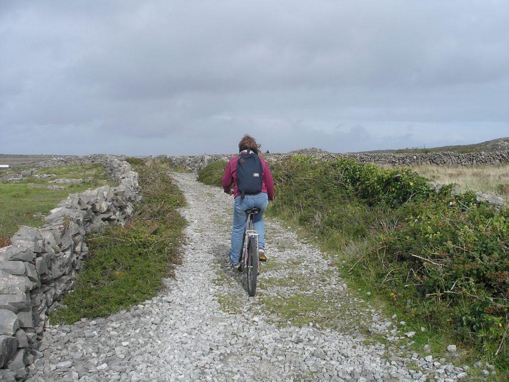 Tem circuito de bike também na Irlanda