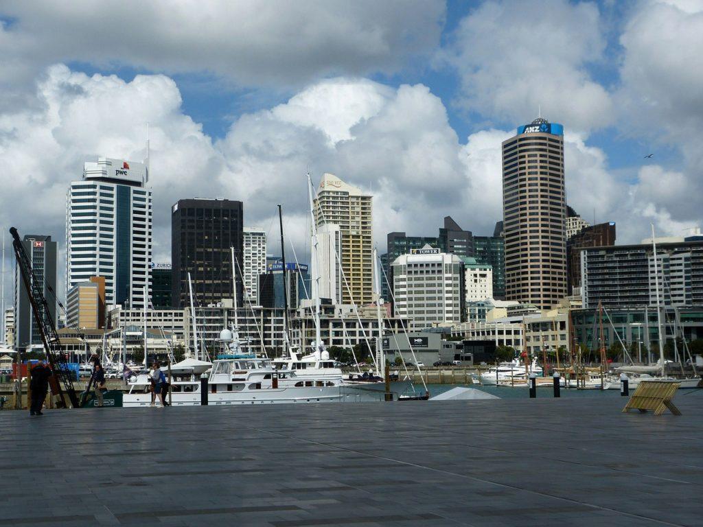 Auckland, na Nova Zelândia encabeça a lista
