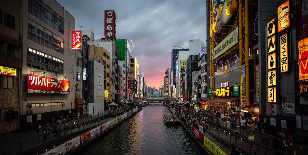 Osaka é a primeira representante do Japão entre as 8 melhores cidades para se viver no mundo
