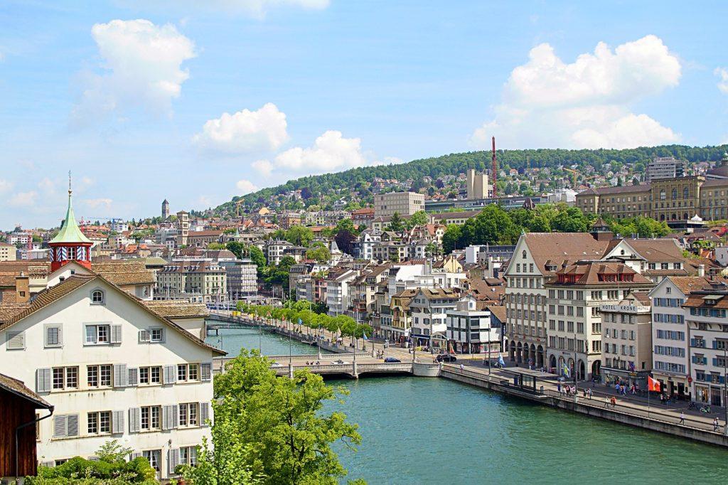 As 8 melhores cidades para se viver no mundo: Zurique, na Suíça