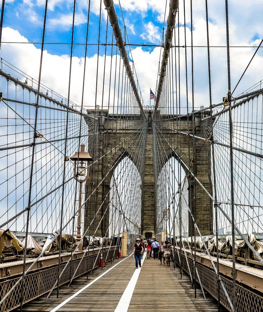 Ponte do Brooklyn e Time Out Market recebem moradores e visitantes de todo o planeta