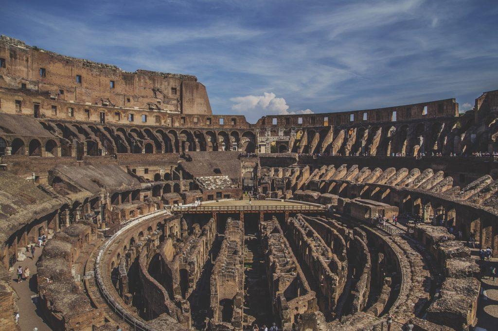Como está hoje o Coliseu em Roma? Com subterrâneo aberto ao público