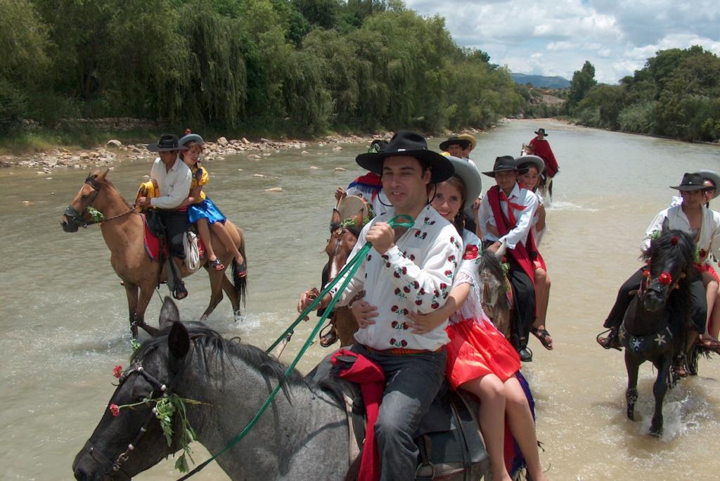 Passeio a cavalo por San Lorenzo