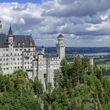 Qual castelo inspirou o castelo da Cinderela