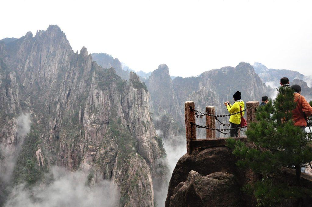 Montanhas Amarelas da China também em destaque