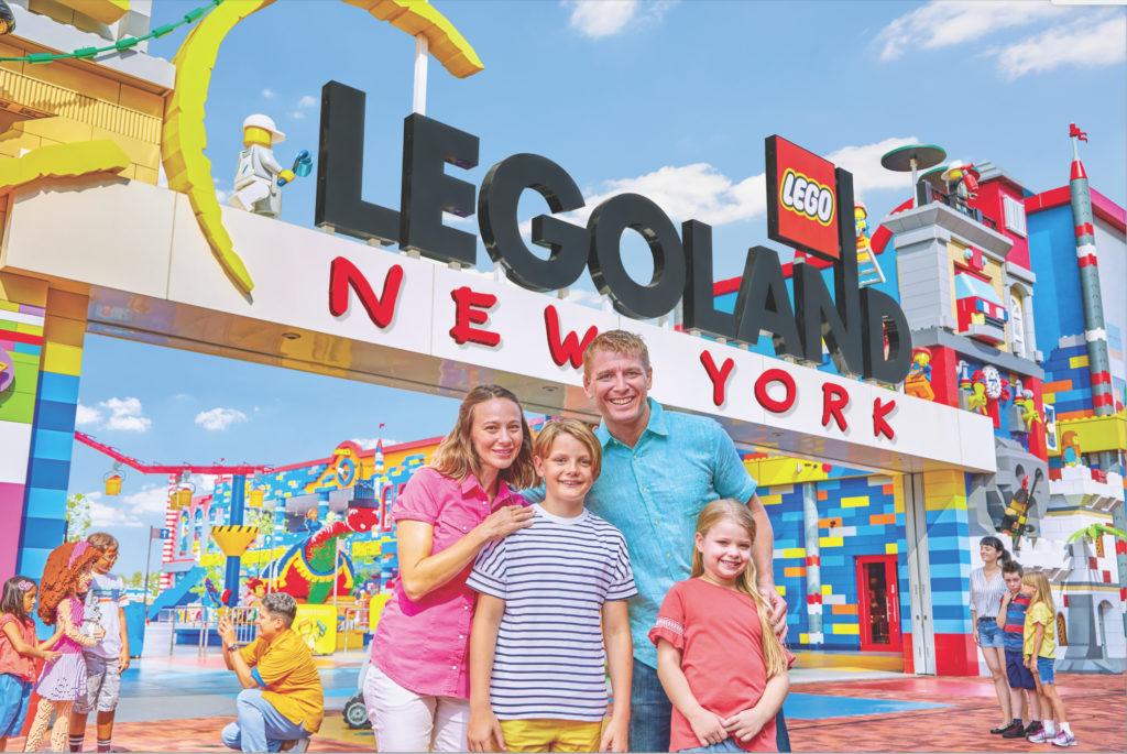Como funciona o parque Legoland em Nova York